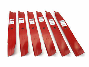 "(6) Reaper 50"" Blades for Toro Replaces 110-6837-03 112-9759-03 Made in USA"