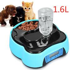 1.6L Automatischer Futterspender Futterautomat für Katzen Hunde mit LCD Timer DE