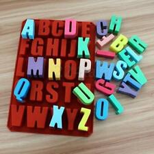 Big Letter Alphabet Silicone Soap Mold Candy Chocolate Cake Deco Mold Ice Cube