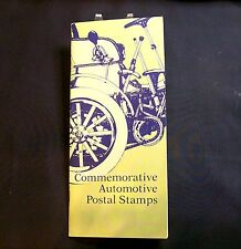 """Automotive Commemorative Stamp Booklet """"Ford Authorized Collection"""" 12 Total USA"""