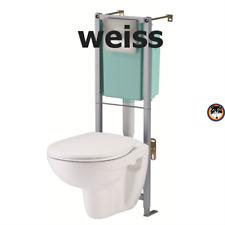 *WOW* Wand WC Komplett Set Siamp WC Pack Standard Samoa mit WC Vorwandelement