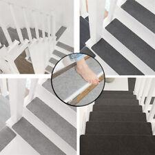 Skid-resistant Tread Carpet Stair Tread Self Adhesive Washable Stair Landing Mat