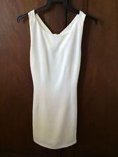 Future State Designer Cutout Creamish White Dress - Size M