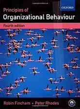 Principles of Organizational Behaviour, Fincham, Robin & Rhodes, Peter, Used; Go