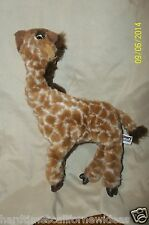 """Discovery Channel Baby Giraffe Plush 11"""" Tall Poseable"""