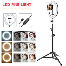 26cmLED Dimmbar Ringleuchte Ringlicht für Selfie Live YouTube Makeup Studiolicht
