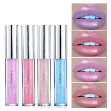 HANDAIYAN Holographic Metallic Diamond Lip Gloss Sparkling Lipstick Lip Glaze