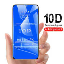 Fit Apple iPhone X Xs 100%Tempered Glass Film Screen Protector 10D 6D 9H Guard