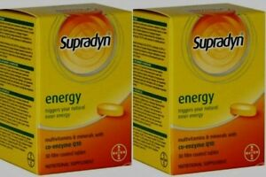 pack of 2 discount supradyn energy  co-enzyme Q 10 multivitamins for all family