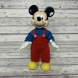 Kenleys Vintage Disney Mickey Mouse Hand Painted Porcelain Doll