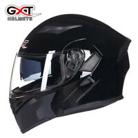 DOT Modular Flip Up Motorcycle Helmet Full Face Dual Visor Motocross Bike XXL