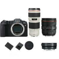 Canon EOS RP Mirrorless Digital Camera with 70-200mm EF USM & 24-70mm IS USM EF