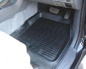 Mitsubishi L200 Universal Deep Rubber Floor Mats for 4x4 - Set of 4