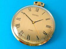 Beautiful SEKONDA pocket watch from Soviet Union Gold Plated retro Russian