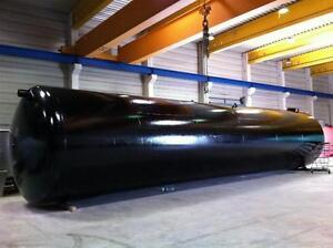 Löschwassertank 100.000 Liter Sprinklertank Wassertank Erdtank Flüssigdünger