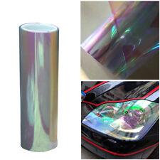 Chameleon Colorful Clear Autos Headlight Tail Fog Light Vinyl Tint Film 200x30cm