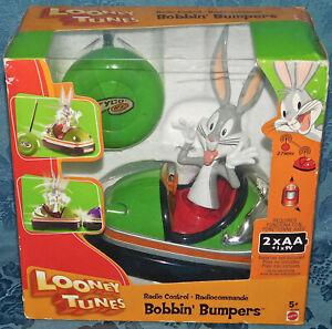Bugs Bunny Looney Tunes Bobbin Bumpers Radio Control Car Tyco Toy Mattel New NIB