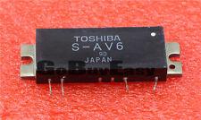 1PCS TOSHIBA S-AV6 Encapsulation:MODULE VHF MARINE FM RF POWER AMPLIFIER