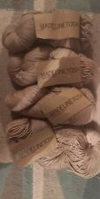 Madelinetosh Sport Superwash Merino Wool / Yarn, Antique Lace. 4 * 100g Skeins