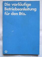 ILTIS  BW Betriebsanleitung Handbuch keine Reparaturanleitung kein Reparaturbuch