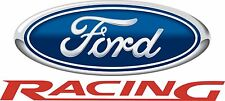 "Ford Racing Large Decal is 24"" x 17"" Free Shipping"