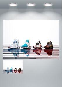 Nike Air Max Trainers Large Poster Art Print
