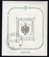 Poland Scott 1049 World Ski Skiing Championships, Polen Used 1962