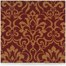 Sykes Torchlight Red Jacquard Crypton Incase Upholstery Fabric 0426832