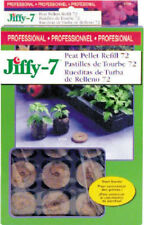 Jiffy J3R72 Peat Pellet Refill, 72-Pack