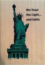 New Statue of Liberty USA America Rubber Stamp By Inkadinkado 8625-N