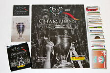 Panini CHAMPIONS OF EUROPE 2005 KOMPLETTSATZ COMPLETE SET + ALBUM + Tüte