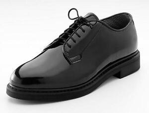 High Gloss Military Uniform Oxford Dress Shoes Navy Army Prom Wedding Tuxedo