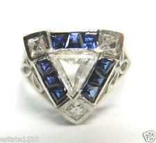 Antique Diamond Engagement Ring Platinum EGL USA Ring Size 7 UK-N1/2 Vintage