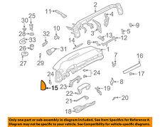 AUDI OEM 02-04 A6 Quattro Instrument Panel Dash-End Cover Left 4B0857085B6PS
