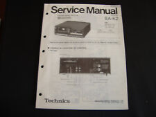 Original Service Manual Technics SA-K2
