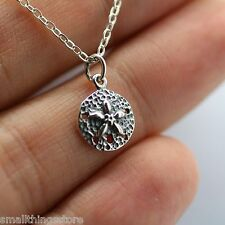 SAND DOLLAR CHARM NECKLACE - 925 Sterling Silver *NEW* Beach Ocean Sand Sea