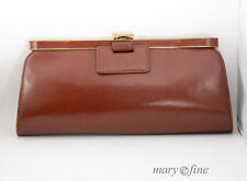 Leather Clutch Bags Vintage 1930s Decade