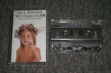 Paul Winter~Wintersong~1986 Contemporary Jazz / New Age~Cassette~FAST SHIPPING!