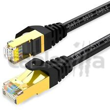 CAT7 75FT Patch Cord Shielded Ethernet Internet Network Lan Cord 10G RJ45 Gold