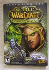 "WOW World of Warcraft ""The Burning Crusade"" Expansion Set PC/Mac 2007  170544"