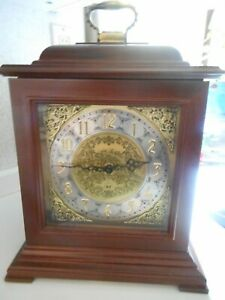 Vintage Seth Thomos legecy 8 quartz mantel clock made in Germany  Hermele 1350