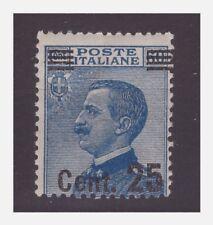 REGNO 1924 - SOPRASTAMPATI - Cent. 25 su 60 NUOVO **