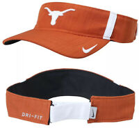 Nike Texas Longhorns Burnt Orange Adjustable Dri-Fit Aerobill Visor Hat Cap
