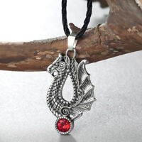 Dragon Pendant Jormungandr Norse Viking Dragon Celtic Dragon Necklace Men Gift