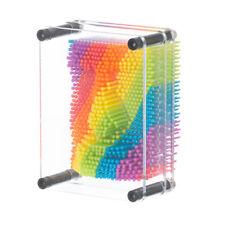 Rainbow Pin Art 3D Image Maker Fun Gadget Office Secret Santa Stocking Filler