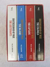 W. E. B. Griffin BROTHERHOOD OF WAR Four Paperbacks Box Set