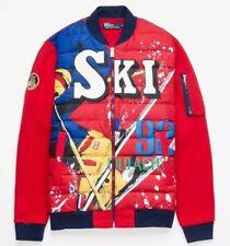 XL Ralph Lauren Downhill Skier 92 Ski Suicide Double Knit Puffer Down Jacket