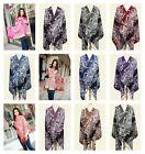 24 shawl lady scarves retro boho floral wholesale lot pashmina shawls