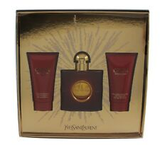 fd3637c2216 OPIUM BY YVES SAINT LAURENT 3 PIECES GIFT SET FOR WOMEN WITH 1.7 OZ EDT  SPRAY