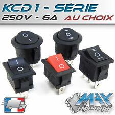 Interrupteur à bascule KCD1 - Modèle au choix - Lots multiples, prix dégressif